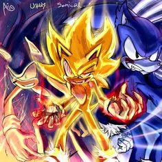 3ver. sonic the hedgehog trio by Ari1020 on DeviantArt