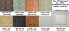 Decorative ceiling tiles for residential and commercial spaces! Flexible wood tambour for walls, ceilings and wainscot. Learn more now! Faux Tin Ceiling Tiles, Ceiling Trim, Ceiling Panels, Suspended Ceiling Systems, Covering Popcorn Ceiling, Flexible Wood, Tin Walls, Curved Walls, Mirror Tiles