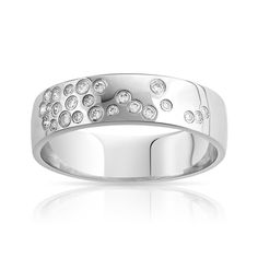 Alliance or 750 blanc diamant