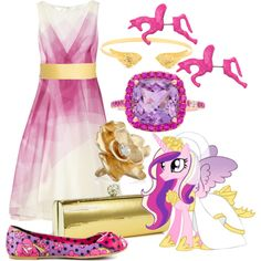 Princess Cadance inspired outfit
