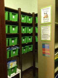 Tips & Tricks Teaching: Building a Guided Reading Closet
