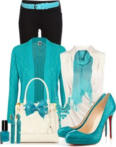 """""""Black & Blue"""" by thalianbaby67 ❤ liked on Polyvore"""