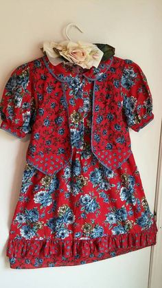 VINTAGE POLLY FLINDERS Dress Girls Collectable by MissPoppysFancy