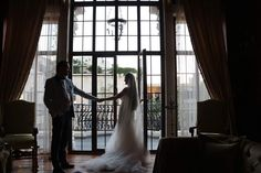 Bride gown and bride&groom #marieclairemaison
