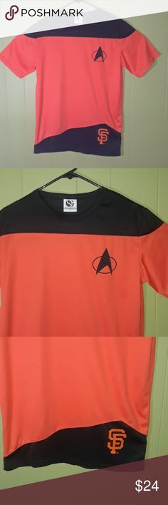 31b3dfe09b3 GIANTS SAN FRANCISCO STAR TREK MEN S ADULT SMALL Brand new never used with  no tags GREAT