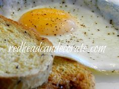 The Perfect Fried Egg… in the oven! at Redhead Can Decorate (Baking Eggs In The Oven) Egg Recipes, Light Recipes, Brunch Recipes, Low Carb Recipes, Breakfast Recipes, Dessert Recipes, Cooking Recipes, Breakfast Bites, Desserts