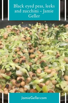 Black eyed peas are incredibly underrated. Most people think of them as Southern food, but they have incredible flavor and texture that is almost buttery. High in fiber and protein, it is time to make them part of your life. #vegan #jewish #roshhashanah 5 Ingredient Recipes, Rosh Hashanah, Black Eyed Peas, Southern Recipes, Quick Easy Meals, Potato Salad, Zucchini, Vegan, Vegetables