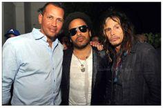 w/ Alex Rodriguez, Lenny Kravitz..