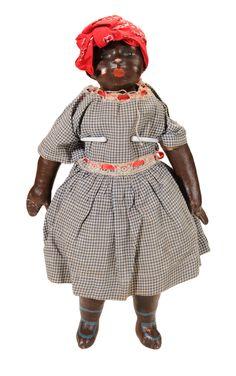 Brunk Auctions - Rare Black Mammy Alabama Baby Doll