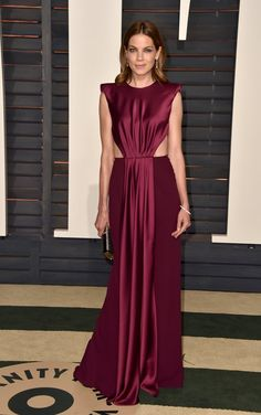 Pin for Later: After the Oscars, It's the Afterparty: See What Every Star Wore Michelle Monaghan