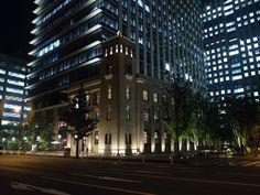 テラススクエア@神田錦町 1930年に竣工した博報堂旧本館を復元