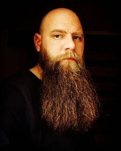 Bald With Beard, Bald Men, Beard Boy, Long Beards, Bald Heads, Awesome Beards, Beard Care, Bearded Men, The Man