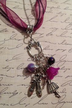 Sweet Ballet Dance Charm Necklace  Lovely by JensJunqueDrawer, $11.99
