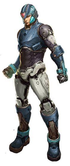 Megaman X - Redesign by AldoRaine13
