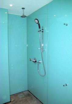 Will Someday Have A Completely Glass Shower.