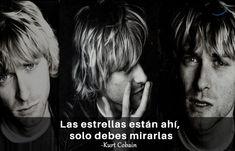 Querer ser otra persona es un desperdicio de la persona que eres. Kurt Cobain Frases, Einstein, Movies, Movie Posters, Amor, Best Songs, Song Lyrics, Film Quotes, Best Quotes
