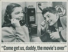 Pacific Telephone Advertisement