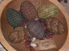 primitive easter pictures | Primitive Easter Ornies, Bowl Fillers, and Flatties