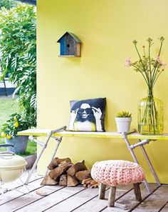 Zomer geel tuin