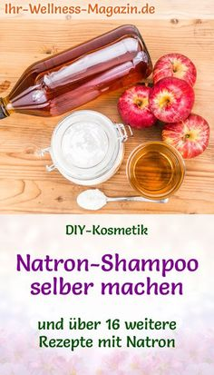 DIY-Rezept für basische Körperpflege mit Natron: Haare waschen mit Natron – Na… DIY recipe for alkaline body care with baking soda: washing your hair with soda – making soda shampoo yourself – healthy hair care guaranteed without silicones … Diy Shampoo, Baking Soda Shampoo, Clarifying Shampoo, Shampooing Diy, Healthy Foods To Eat, Healthy Hair, Best Body Wash, Hair Care Recipes, Diy Hair Care