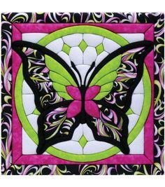 "Butterfly II Quilt Magic Kit-12""X12""Butterfly II Quilt Magic Kit-12""X12"","