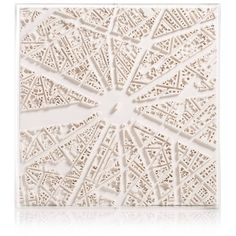 Chisel & Mouse - Paris Cityscape Wall Hanging 3D Map ($273) ❤ liked on Polyvore featuring home, home decor, wall art, map wall art, parisian wall art, paris france home decor, paris home decor and paris skyline wall art
