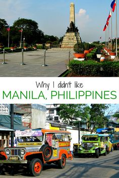 Manila, Philippines just wasn't for me. Here's why.