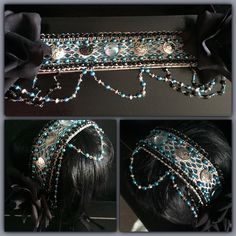 Headpiece for belly dancing