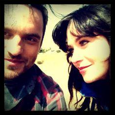 zooey d. & jake johnson   #newgirl