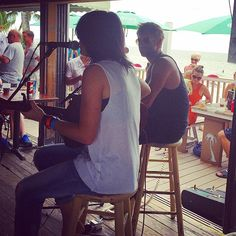 Sonia Leigh and Paul McDonald rocked The Cottage on Fort Myers Beach during #IslandHopper 2014