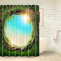 Foog Shower Curtain Forest Tree Wreath Floral Bathroom Sh... https://www.amazon.com/dp/B01NBKERY8/ref=cm_sw_r_pi_dp_x_odswybR9EZK0B