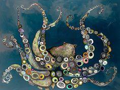 Octopus in the Deep Blue Sea - Eli Halpin