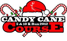Candy Cane Course 5k & 10k @ longview 12-15-12 {part of healthy holiday fun run series}