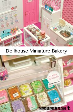 Get this free eBook of miniature bakery and ice cream parlor inspiration for your own mini projects!