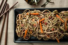 Healthy Redo You Recipes: Soba Noodles with Swiss Chard-Miso Pesto, Mushroom and Chile Tacos,  Fruity Smoothie & more!