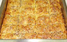 πίτα με σουσάμι και ταχίνι Greek Recipes, Pie Recipes, Cooking Recipes, The Kitchen Food Network, Savory Muffins, Food Network Recipes, Lasagna, Banana Bread, Grilling
