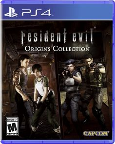 Resident Evil Origins Collection Game Cover