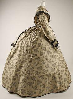 Dress Culture:American or European Medium:silk Costume Institute, Victorian Women, Historical Costume, American Civil War, Metropolitan Museum, Fashion History, Fashion Boutique, The Dreamers, Ball Gowns