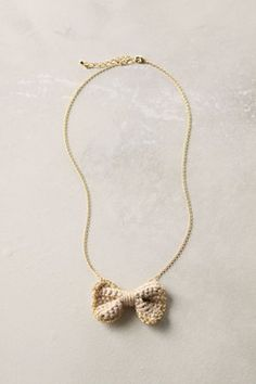 Broken link but yet really nice ideia! #crochet #necklace #acessorie