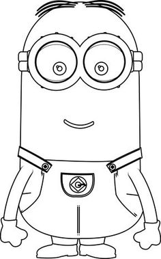 one eye minion despicable me coloring pages coloring pages pinterest eye craft and coloring books