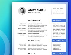 "Portfolio For Resume Check Out New Work On My Behance Portfolio ""resume Bundle"" Http ."