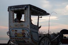 Old carriage by the Manila Bay, Malate Manila