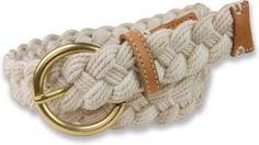 Sperry Top-Sider Nantucket Braided Belt