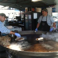 The Cowboy Burrito @  The Texas Skillet...best food at Houston rodeo