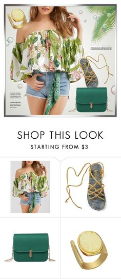 """""""In Green"""" by monmondefou ❤ liked on Polyvore featuring Summer and GREEN"""