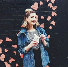 Image shared by Fatma Youssef. Find images and videos about outfit, blonde and aesthetic on We Heart It - the app to get lost in what you love. Workwear Fashion, Fashion Outfits, Nyc Fashion, Zoella Style, Zoella Outfits, Sugg Life, Zoella Hair, Zoe Sugg, Nour