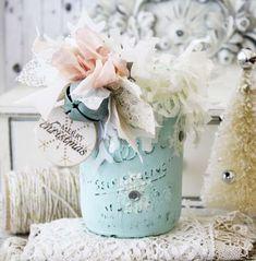 mason jar stamping - Melissa Phillips