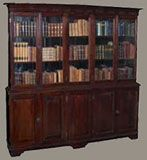 British Colonial Display Cabinet