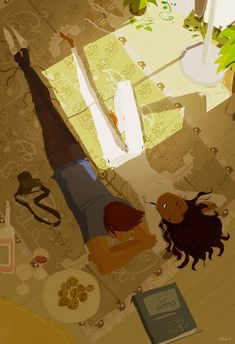 Between you, me and the bedpost by ~PascalCampion on deviantART