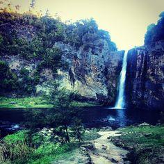 Hunua Falls in Auckland
